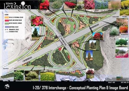 Beautification Project Intersection Map