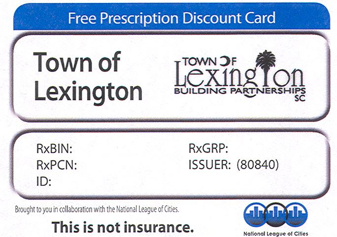 Prescription Discount Card Example