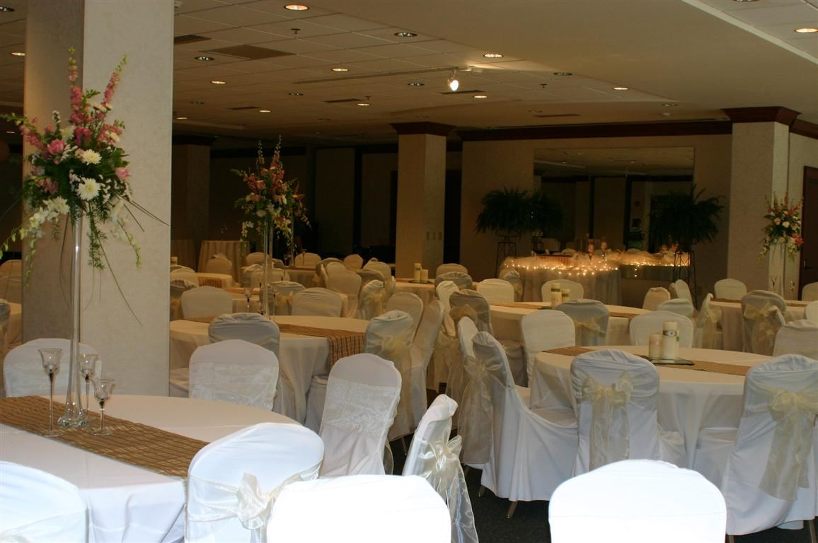 Chairs and Tables Ready for an Event